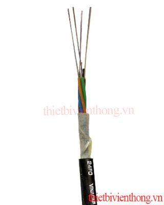 Cáp quang luồn cống 24FO phi kim loai | Cáp quang 24 core