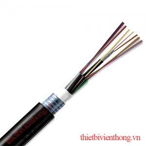 Cáp quang cống 48fo phi kim loại