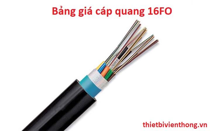 Bảng giá cáp quang 16fo