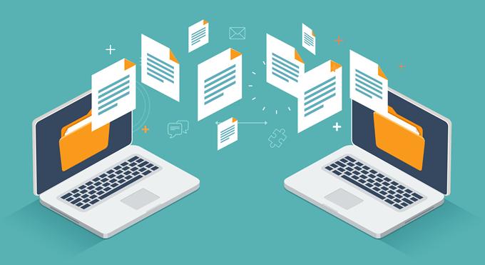 Cách truyền dữ liệu giữa 2 máy tính bằng cáp mạng