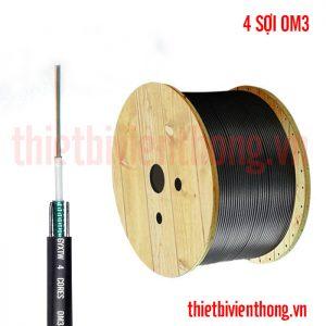 Cáp quang Multimode 4FO OM3 ( 4 sợi , 4 core , 4 lõi )