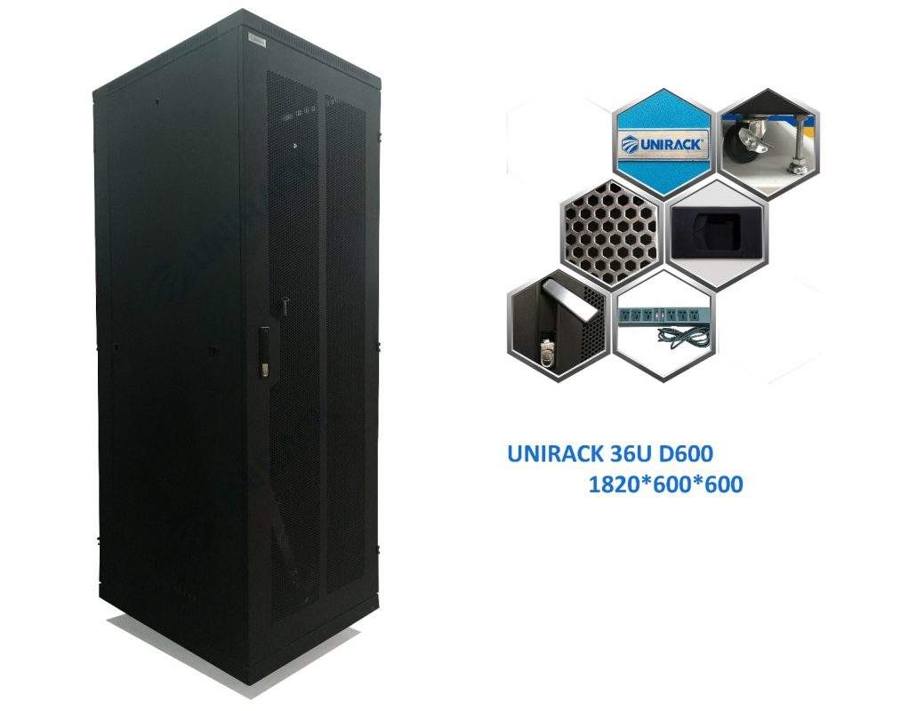 Tủ Rack 36UD600