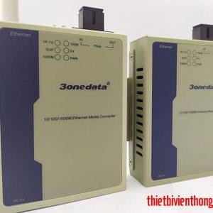 Bộ chuyển đổi quang điện 3Onedata 3012-SS-SC 20KM