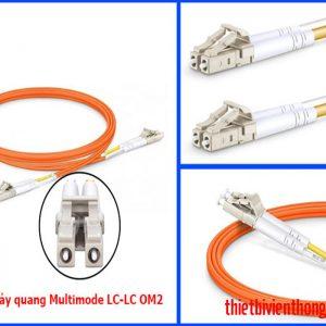 Dây nhảy quang multimode LC-LC OM2 duplex