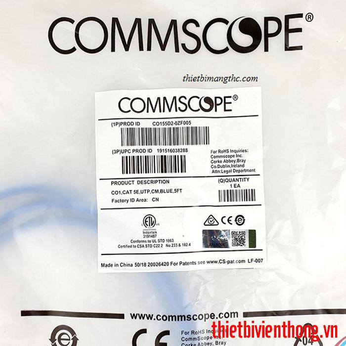 Hình ảnh : Dây nhảy mạng Cat5e 1.5m Commscope