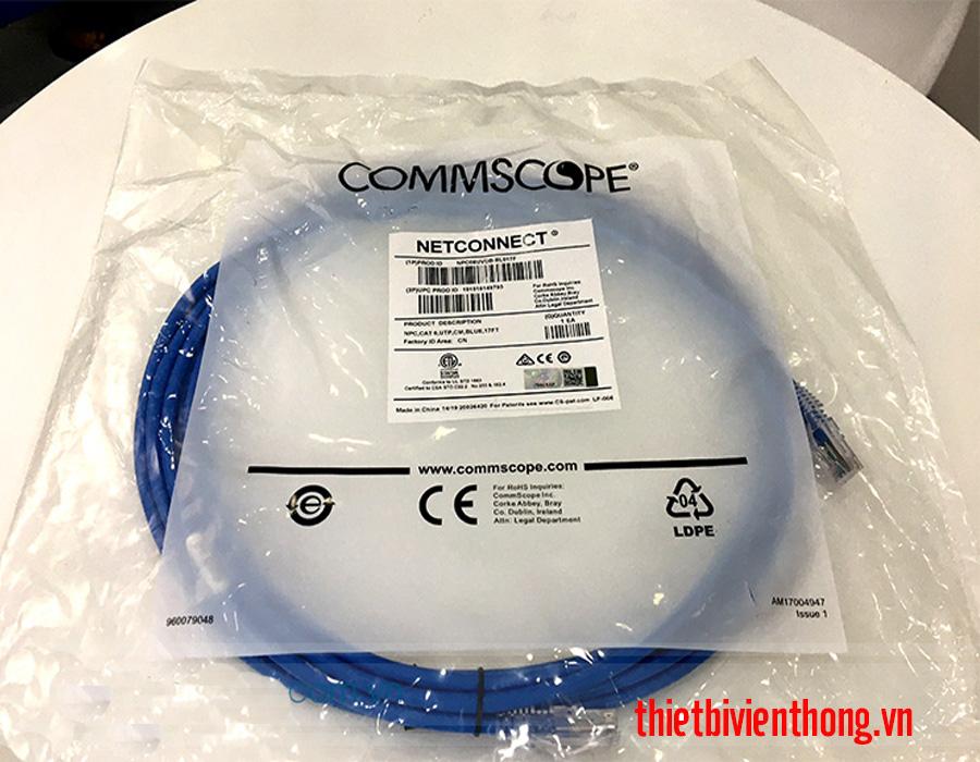 Dây nhảy mạng Cat6 2m Commscope NPC06UVDB-BL007F